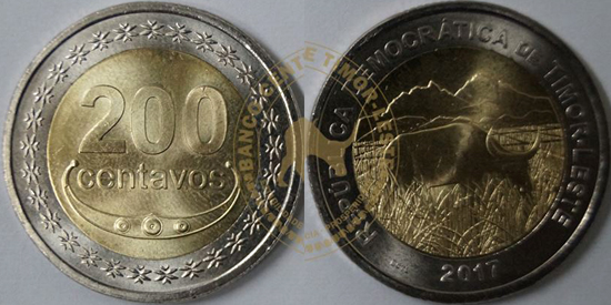 Timor-Leste With New Currency of 200 cents to Circulate in the Country From Today