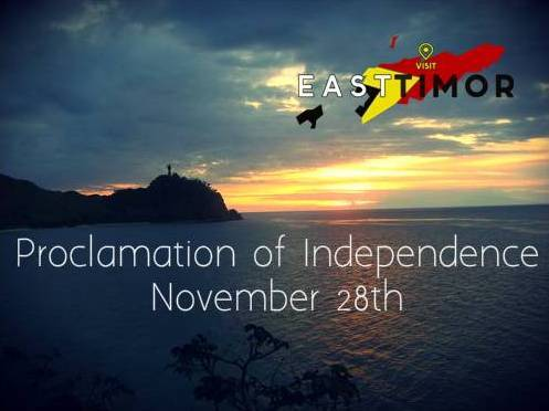 39th Anniversary of the Proclamation of Independence