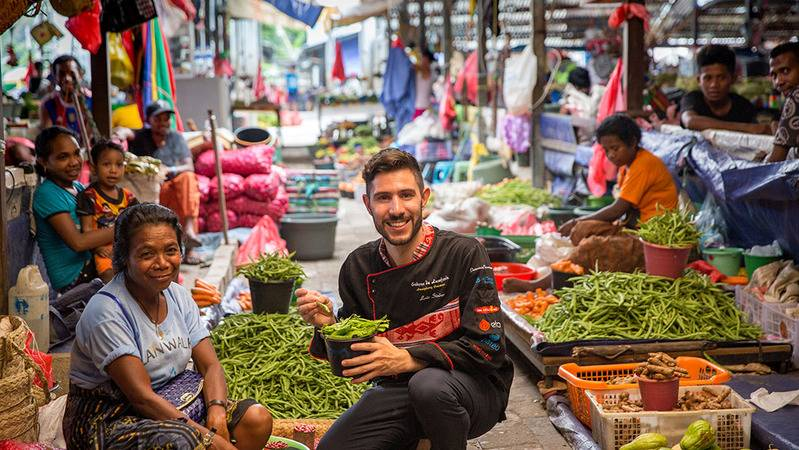 Luís Spent 5 Years Collecting Recipes to Fix Gastronomic Identity of Timor Leste